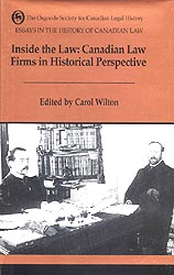 essays in the history of canadian law quebec and the canadas
