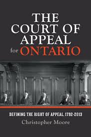 History of the Ontario Court of Appeal